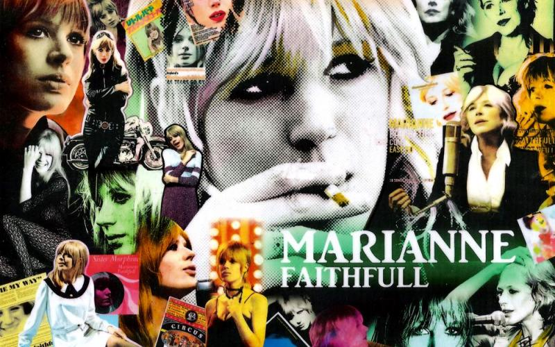 Entre Marian y Marianne Faithfull